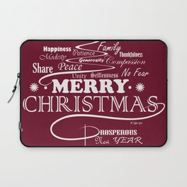 The Wishing Christmas Tree Laptop Sleeve