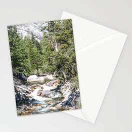 Merced River From the Mirror Lake Trail Stationery Cards