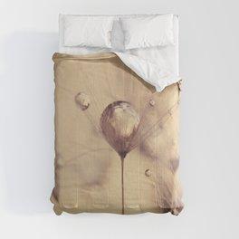 dandelion gold Comforters