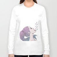 pills Long Sleeve T-shirts featuring -Pills by Victoria Ripalda Tamame