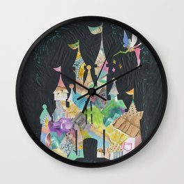 Castle fit for a princess Wall Clock