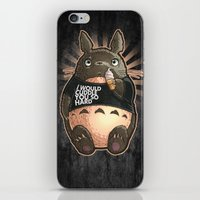 cuddle iPhone & iPod Skins featuring CUDDLE MONSTER by Tim Shumate