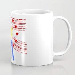Born down in a dead man's town Coffee Mug