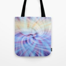 Abstract Twirl Tote Bag