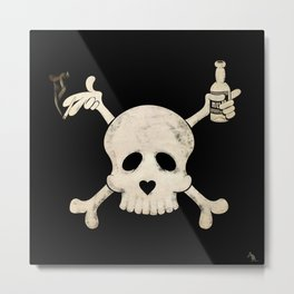 Cigarettes & Alcohol  Metal Print