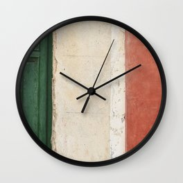 Colors from Italy Wall Clock