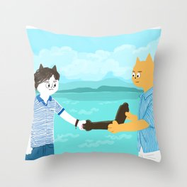 Call me by your name - Handshake Throw Pillow