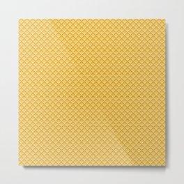 Waffles Metal Print