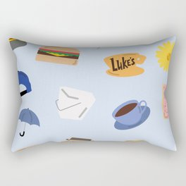 Gilmore Girls World Rectangular Pillow