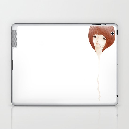 hair extension Laptop & iPad Skin