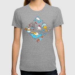 Winter Cats T-shirt