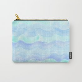 water color waves Carry-All Pouch