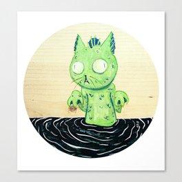 swampcat Canvas Print