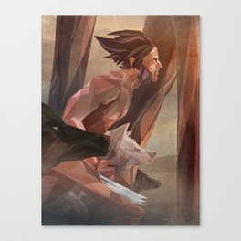 Runs With Wolves Canvas Print