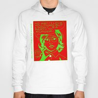 chad wys Hoodies featuring chad for murder by Chad M. White