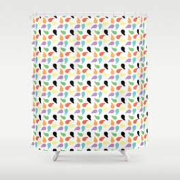 Paisley Jelly Beans Shower Curtain