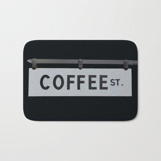 Coffee St. Bath Mat
