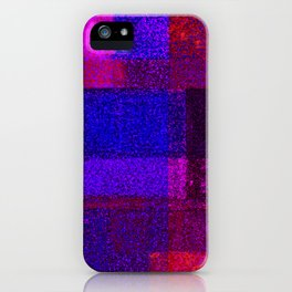 Christmas Square Dance iPhone Case