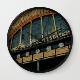 Flinders Street Station 2 Wall Clock