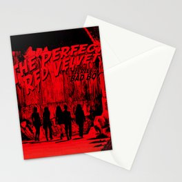 "The Perfect Red Velvet ""Bad Boy"" Stationery Cards"