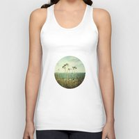 wind Tank Tops featuring Wind by strentse