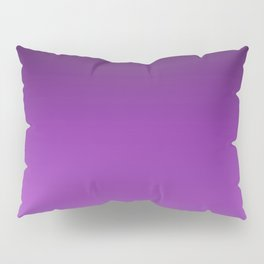 Dark Purple Ombre Pillow Sham