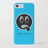 mike wrobel iPhone & iPod Cases featuring MIKE by A B S T R A C Q