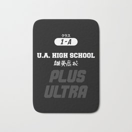 U.A. High School Print Bath Mat