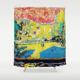 Ferienwohnung Shower Curtain