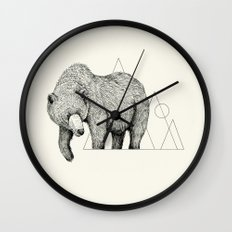 'Wildlife Analysis IV' Wall Clock