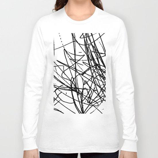 Daisy Scribble Long Sleeve T-shirt