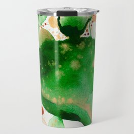 Green Study Travel Mug