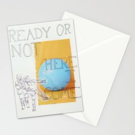 ready or not ! Stationery Cards