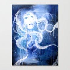 Three Eyed Goddess Canvas Print