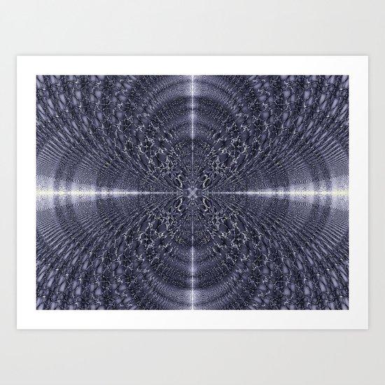 Metallic Light Art Print