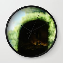 Living Through the Rear View Wall Clock