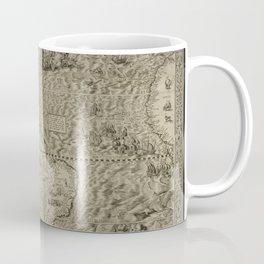 The americas by Diego Gutierrez, 1562 Coffee Mug