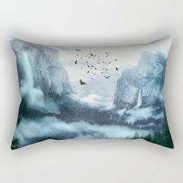 Mountain Morning 3 Rectangular Pillow