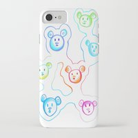 bears iPhone & iPod Cases featuring Bears by Angelz