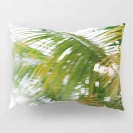 Moving palms | Dominican Republic travel photography Pillow Sham
