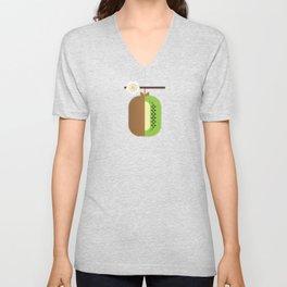 Fruit: Kiwifruit Unisex V-Neck