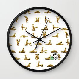 Get Down HD by JCLOGAN 4 Simply Blessed Wall Clock