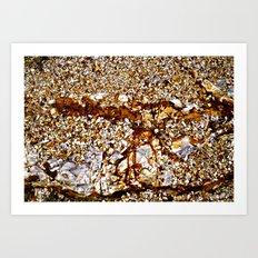 HeadlandRock3 Art Print