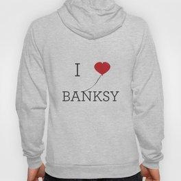 I heart Banksy Hoody