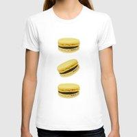 macaroons T-shirts featuring Macaroons by Maramgaram
