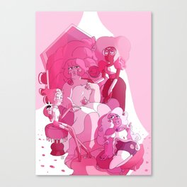 pink court Canvas Print