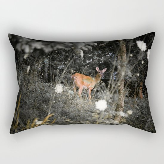 Didi the Deer Rectangular Pillow