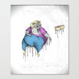 THE FINAL BLOOD BATH. Canvas Print
