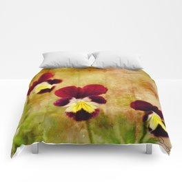 Pansies Comforters