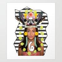 S6 Tee Art Print